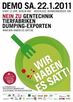 Demo Plakat wir-haben-es-satt 2011